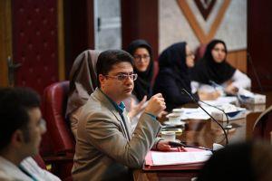 دویست و هفتمین جلسه شورای پژوهشی و اخلاق در پژوهش در مرکز قلب و عروق شهید رجایی: عکس شماره 10 / 12