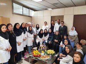 جشن بازنشستگی آقای بابک بلاری کارشناس تصویربرداری: عکس شماره 1 / 5