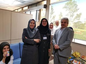 جشن بازنشستگی آقای بابک بلاری کارشناس تصویربرداری: عکس شماره 4 / 5