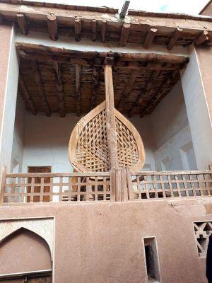 سفر تیم طبیعت گردی مرکز به کاشان ، روستای ابیانه و منظقه کویری: عکس شماره 12 / 12