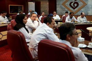 جلسه مورتالیتی مورخ 19 تیرماه 1396 در مرکز قلب و عروق شهید رجایی: عکس شماره 2 / 12