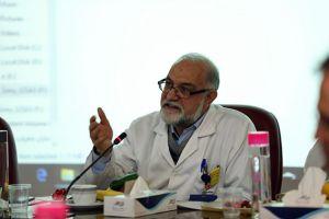 جلسه کمیته مورتالییتی مورخ 20 مهر ماه سال جاری در مرکز قلب و عروق شهید رجایی: عکس شماره 1 / 12