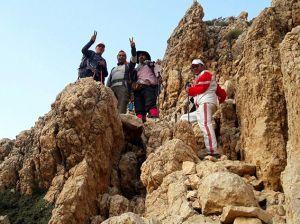 صعود تیم کوهنوردی مرکز قلب و عروق شهید رجایی به ارتفاعات زرد کوه بختیاری: عکس شماره 9 / 9